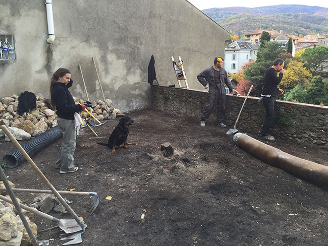 Excavatrice Aspiratrice démolition 04
