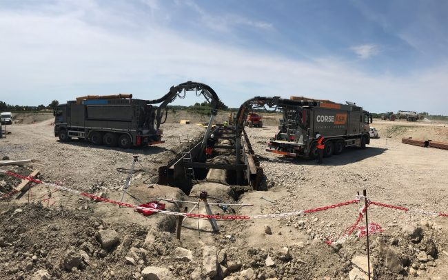 CORSE ASPI - Aspiratrice Excavatrice GRD gaz